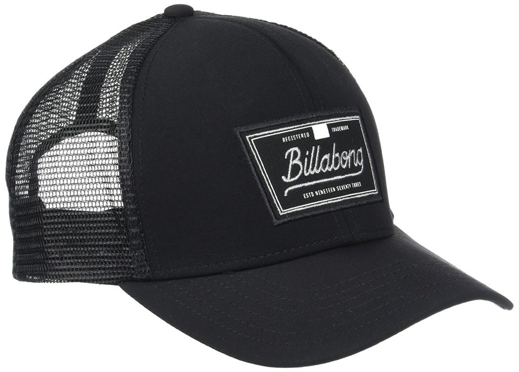 trucker negra billabong